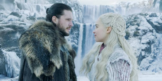 "Kit Harington, Emilia Clarke in ""Game of Thrones"" - Staffel 8"