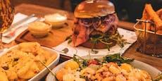 Restaurant lädt alle mit Kärntner Dialekt auf Essen ein