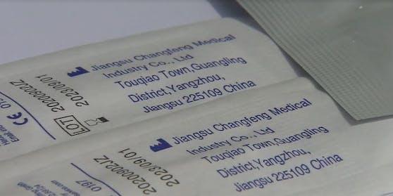 Beinahe alle in Vorarlberg eingesetzten Tests wurden in China produziert.