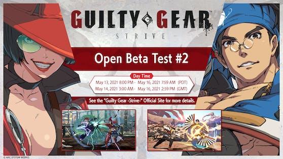 """Zweiter Open-Beta-Test für """"Guilty Gear -Strive-"""" findet vom 14. bis 16. Mai 2021 statt."""