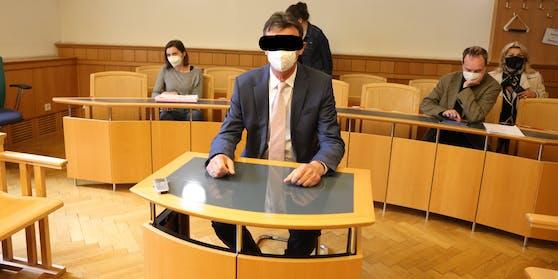 Der Politiker am Mittwoch am Landesgericht.