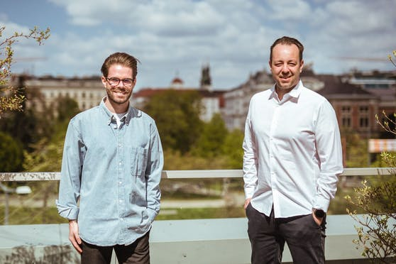 Die beiden Veranstalter: Daniel Kauschitz und Patrick Gräftner.