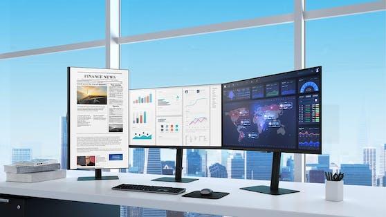 Samsung präsentiert Monitor-Lineup 2021 mit hochauflösender Bildqualität.