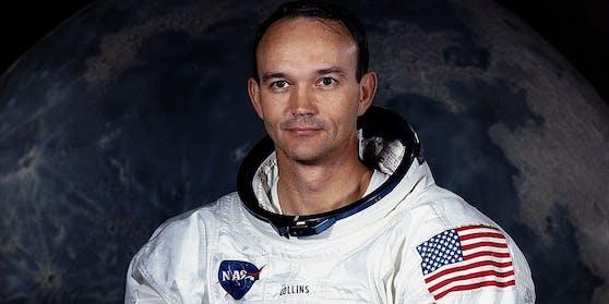 Michael Collins blieb damals in der Mondumlaufbahn zurück.