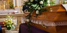Friedhofswärter stahl Spenden bei Begräbnissen