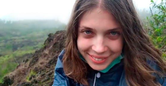 Veronika Troshina (22) wird wegen dieses Videos von den indonesischen Behörden gesucht.