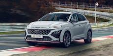 Kleiner SUV mit viel Power: Der neue Hyundai Kona N