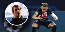 Musik-Star beschimpft Neymar nach 1:2-Pleite