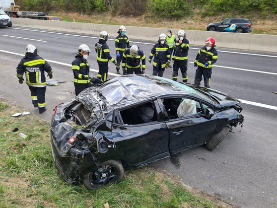Schwerer Unfall auf der Semmering-Schnellstraße