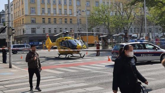 Rettungseinsatz in Wien-Meidling
