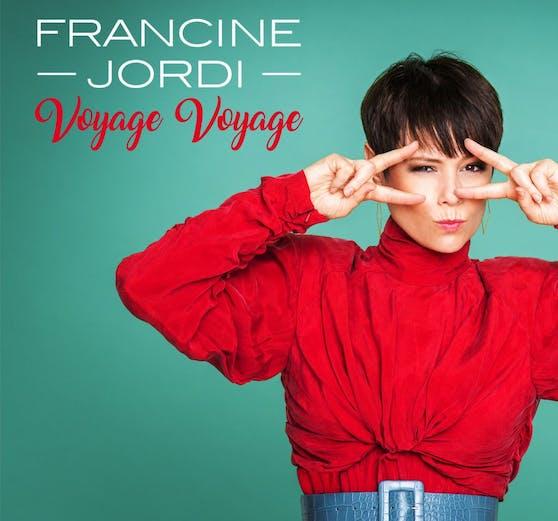 """Die Berner Schlagersängerin Francine Jordi reist für """"Voyage Voyage"""" zurück in die 80er-Jahre."""