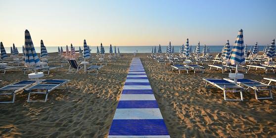 Bibione, Italien, Strand