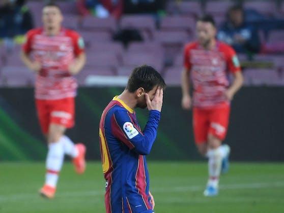 Lionel Messis Tor reichte Barca nicht.