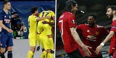 United-Schützenfest – Arsenal unterliegt Villarreal