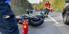 Motorradfahrer hatte bei Crash mit Reh keine Chance