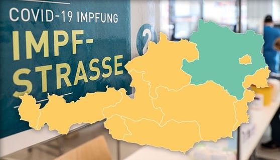 Die Impfstrategie in Österreich ist von Bundesland zu Bundesland verschieden.