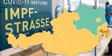 Impf-Atlas für Österreich – Wer jetzt wann wo drankommt