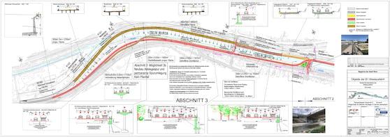 Das vorliegende Projekt der MA29 - Brücken- und Grundbau sieht eine Zusammenlegung der zweispurigen Westausfahrt mit der bereits existierenden Westeinfahrt neben dem Wohngebiet in Hacking (Hietzing) und dem Franz-Schimon-Park vor. Gemeinsam mit einer vorgesehenen Abbiegespur über die Bräuhausbrücke in Richtung Penzing ergeben sich im Abschnitt vor der Bräuhausbrücke so fünf Fahrspuren. Der Bezirk und die Anrainer laufen dagegen Sturm.