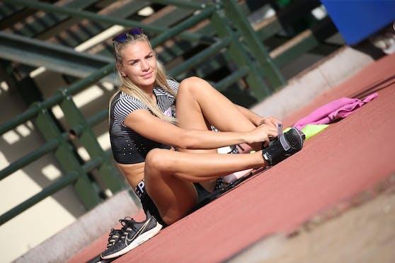 Österreichs Weltklasse-Siebenkämpferin Ivona Dadic.