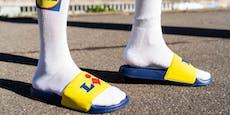 Lidl bringt neben Kult-Sneaker auch Badelatschen