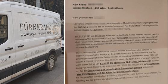 Der NIederösterreicher soll jetzt 350 Euro Strafe bezahlen