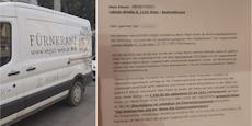 Mann steigt kurz aus Auto aus, kassiert 350 € Strafe