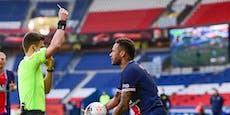 Ausschluss! Neymar wirft bei Paris-Pleite Nerven weg