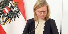 """""""Müssen was tun"""" – Ministerin kämpft mit den Tränen"""