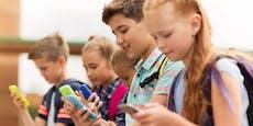 Keine Handys für Kinder unter 12 Jahren?
