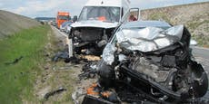 2 Verletzte bei Frontalcrash in Wiener Neustadt