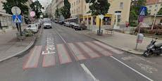 10-jähriges Kind in Wien auf Zebrastreifen angefahren