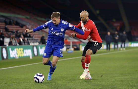 Southampton gegen Leicester.