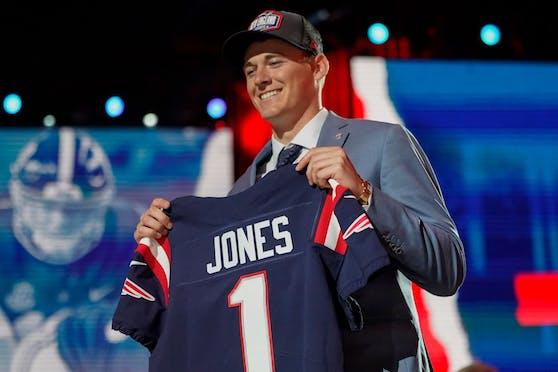 Mac Jones wird der neue Patriots-Quarterback.