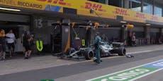 Vettel sorgt mit Boxen-Panne in Portimao für Lacher