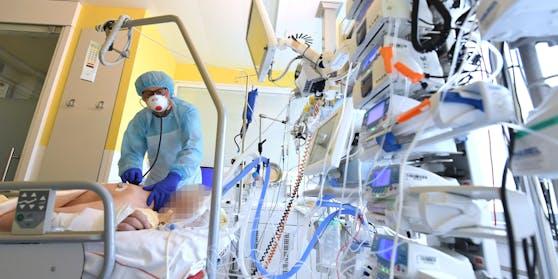 Blick in eine Intensivstation - hier im Krankenhaus Tulln (Archivfoto)