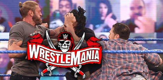 Edge, Reigns und Bryan krachen aufeinander