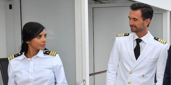 """""""Das Traumschiff: Malediven"""" (4.4.2021): Collien Ulmen-Fernandes, Florian Silbereisen, Marlon Boess"""