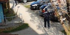 Großfahndung der Polizei nach Schüssen in Linz