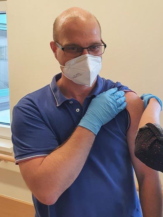 Mediziner Florian Imböck gibt seine Praxis auf.