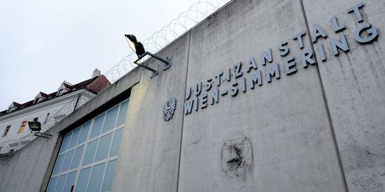 Der Eingangsbereich der Justizanstalt Wien-Simmering
