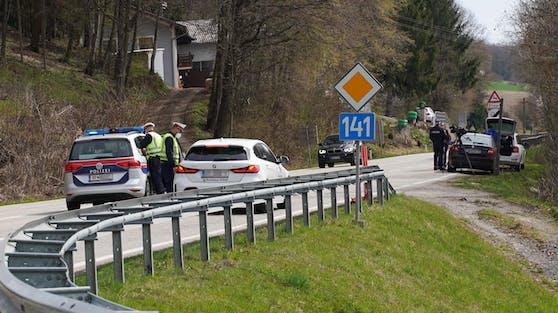 In Braunau, in Oberösterreich, starteten am Montag Ausreisekontrollen. Nur mit negativem Test darf man aus dem Bezirk.
