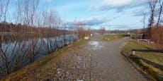 Räuber-Bande prügelt Opfer, tritt sie in eisigen Fluss