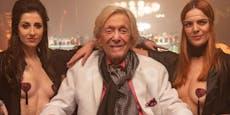Richard Lugner im Dubai-Urlaub nicht wiederzuerkennen