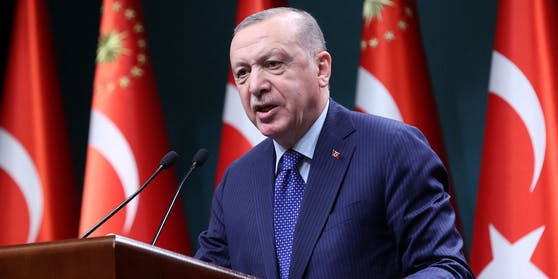 Setzt bei der Impfung auf China und Russland: Präsident Recep Tayyip Erdogan.