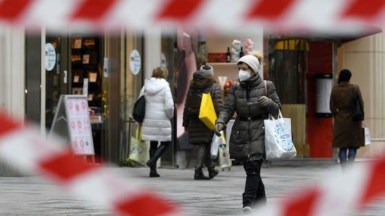 Wien hat den Lockdown bis zum 2. Mai verlängert - auch der Handel muss weiter geschlossen bleiben. (Symbolbild)