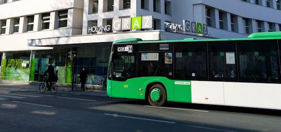 In einem Grazer Bus kam es zu dem Zwischenfall.