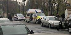 Frau (69) von Pkw angefahren, in Wiener Spital gebracht