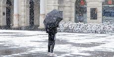 Tief Ulli bringt den Winter auf die Straßen zurück