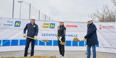 Baustart für neue Leichtathletik-Halle