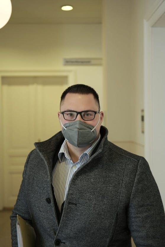 Opfervertreter und Zeuge Alexander Datzer